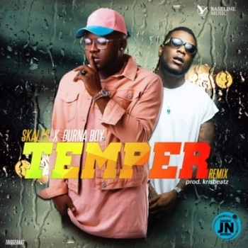 Skales – Temper (Remix) (Instrumental) ft. Burna Boy